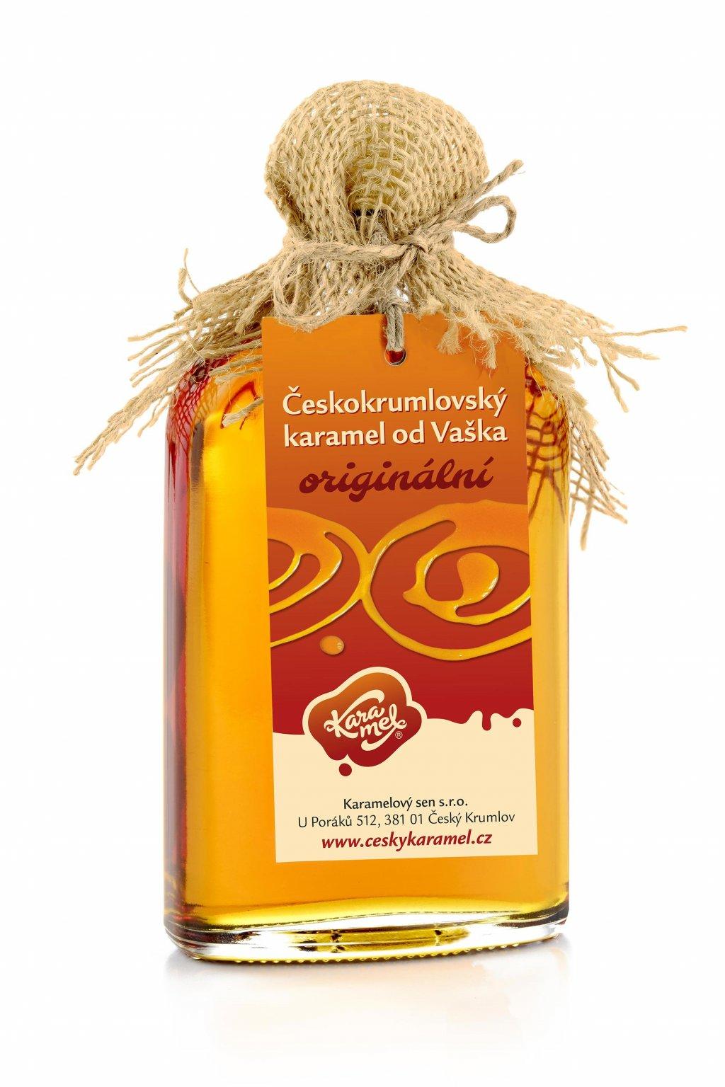 tekutý českokrumlovský karamel od vaška originální