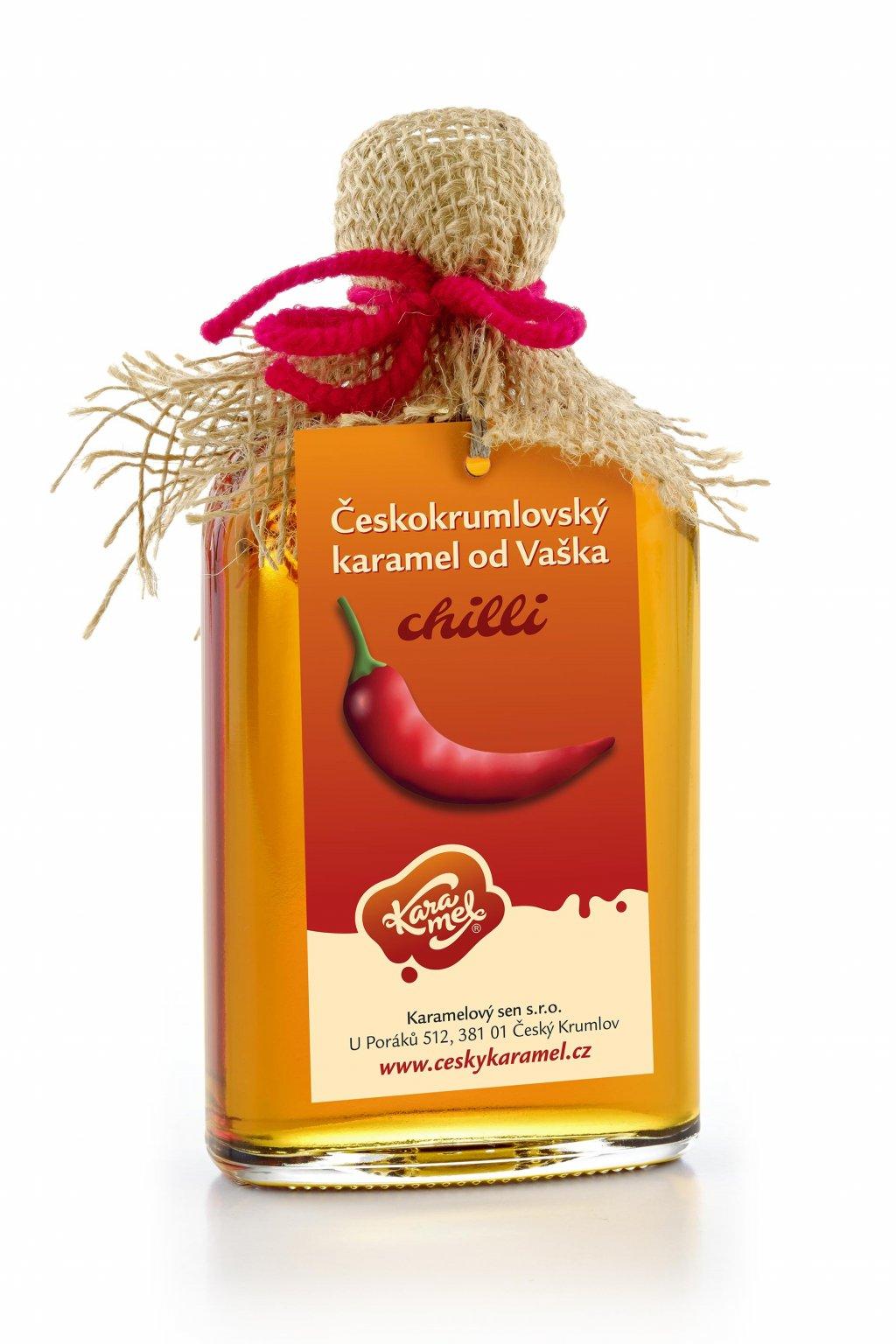 tekutý českokrumlovský karamel od vaška chilli
