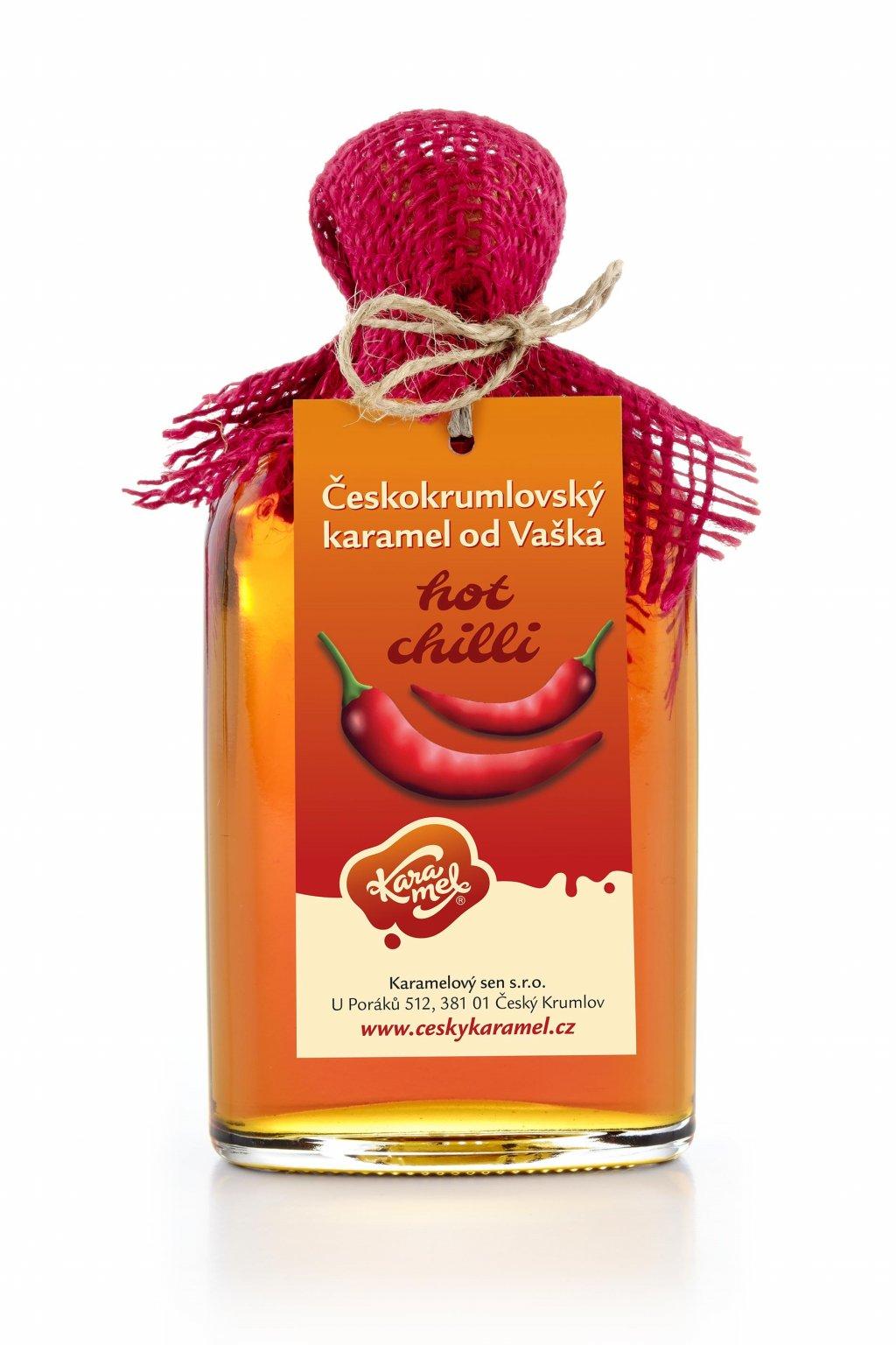 tekutý českokrumlovský karamel od vaška hot chilli