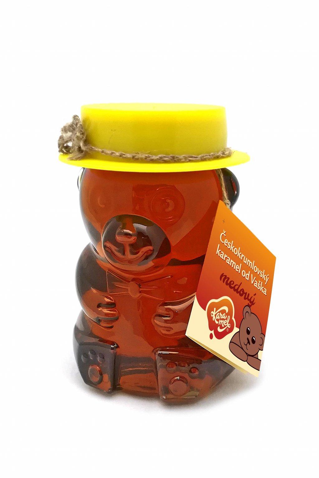 tekutý českokrumlovský karamel od vaška medový