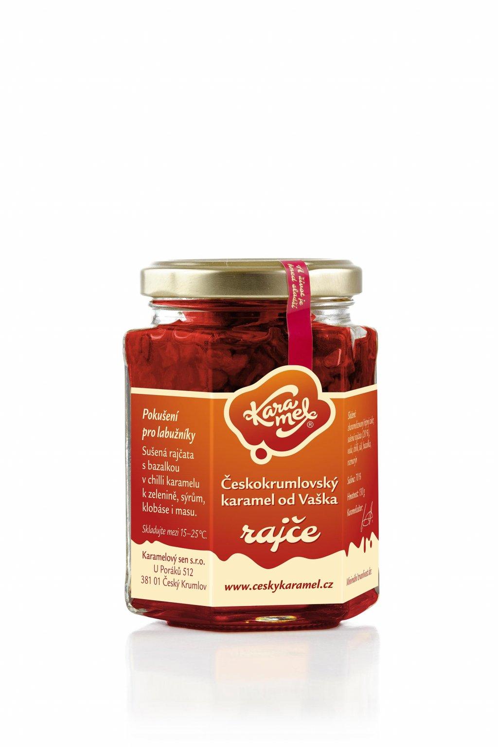 tekutý českokrumlovský karamel od vaškal rajce
