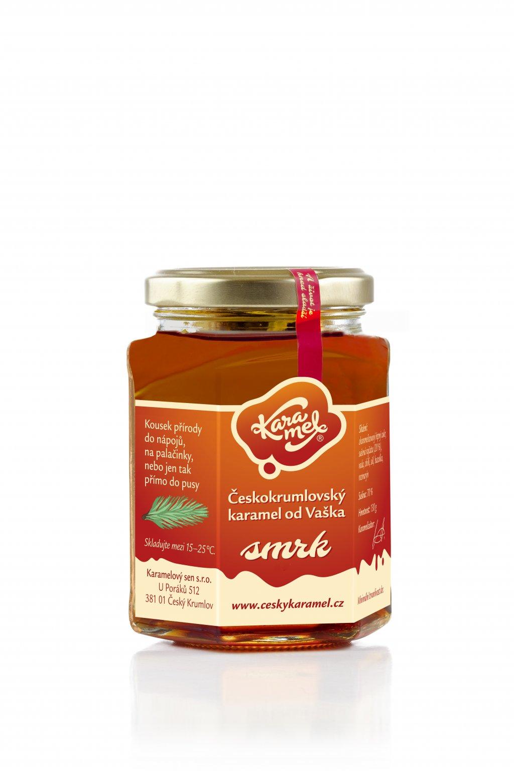 tekutý českokrumlovský karamel od vaška smrk