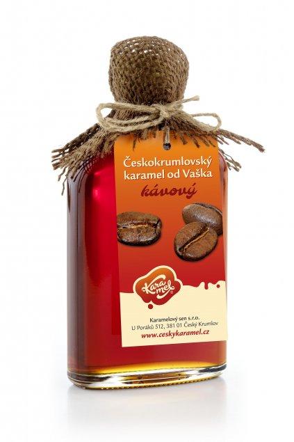 tekutý českokrumlovský karamel od vaška kávový