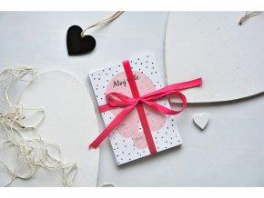 Milníkové kartičky pro miminko růžové