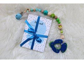Milníkové kartičky pro miminko modré