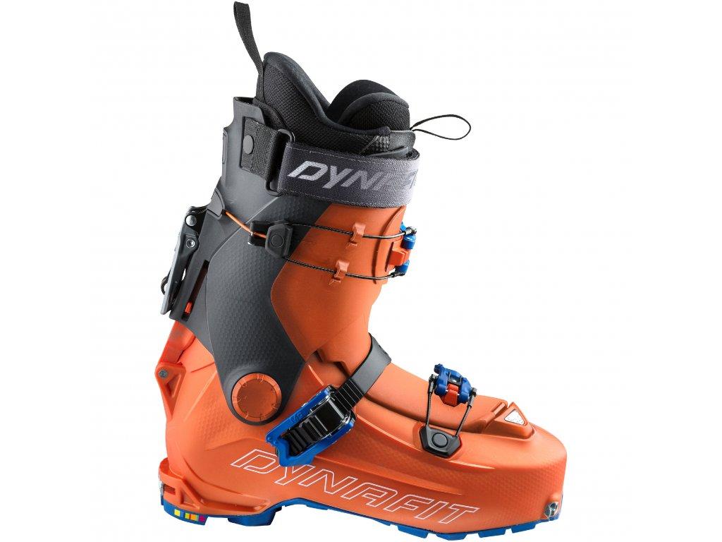 Boty skialpové DYNAFIT HOJI PX (Barva Orange/Asphalt, Velikost 28)
