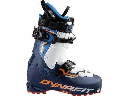 Boty skialpové DYNAFIT TLT8 EXPEDITION CR (Barva Poseidon/Fluo Orange, Velikost lyžáku 27.5)