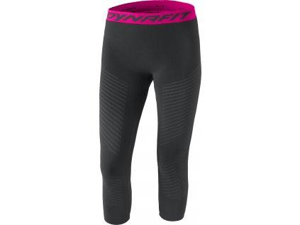 Dámské funkční spodky DYNAFIT SPEED DRYARN W TIGHTS (Barva Black Out/Pink, Velikost 34/XS)