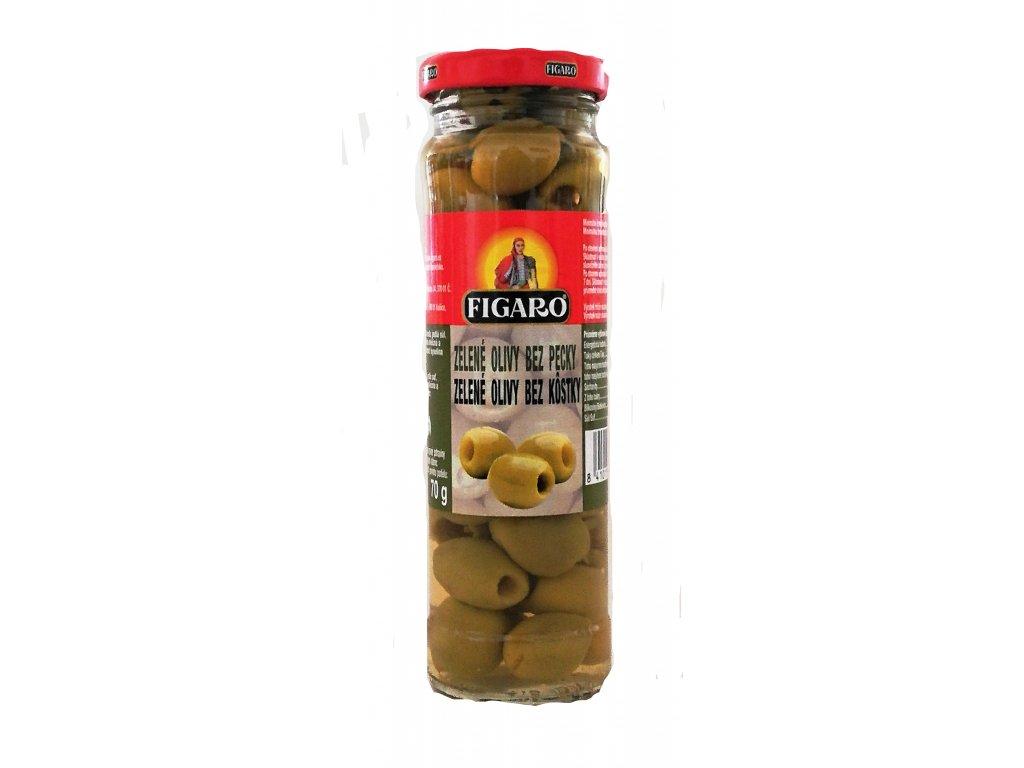 InkedFigaro zelené olivy bez pecky 140g LI