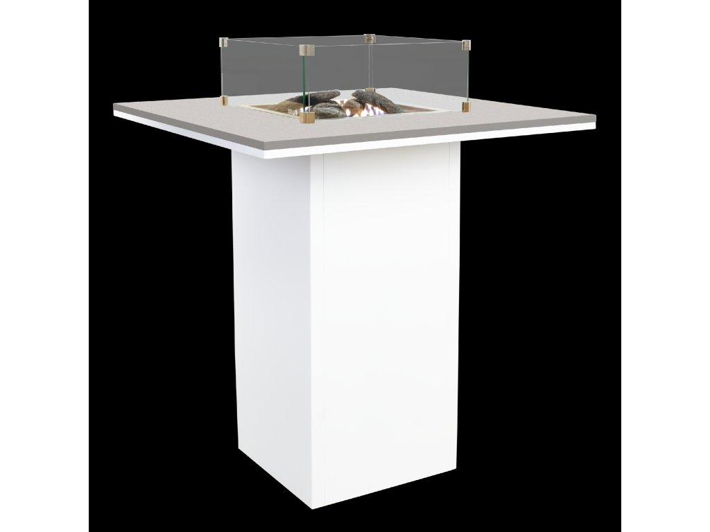 5980130 Cosiloft 100 bartable white grey with glass set
