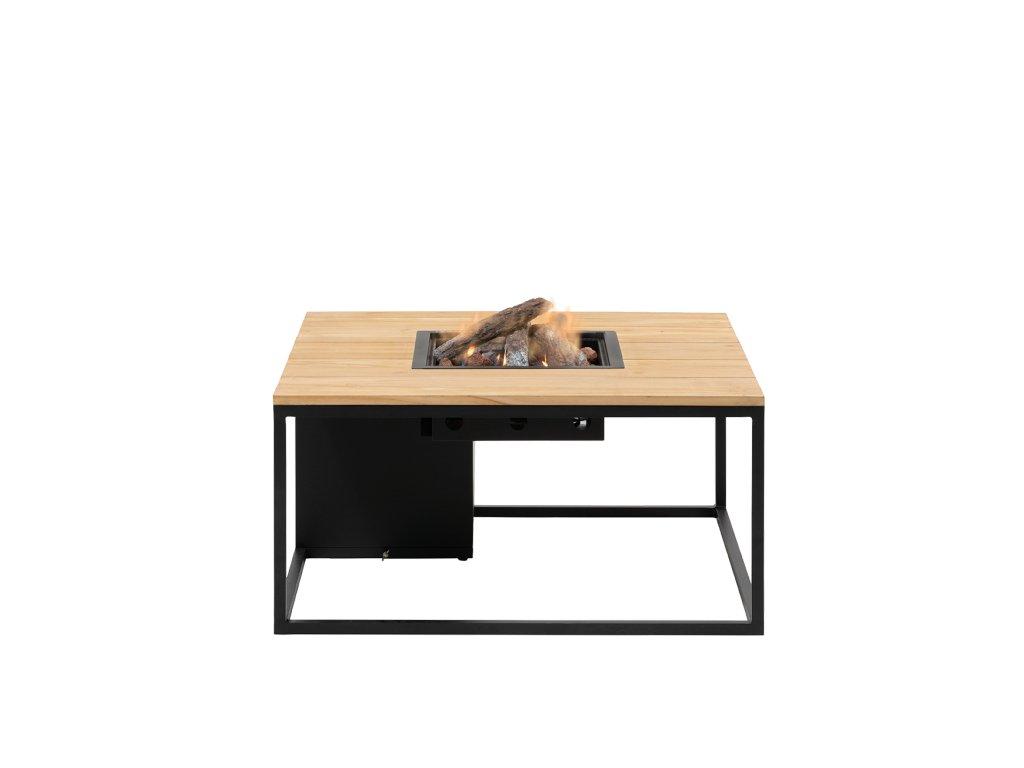 5957860 Cosiloft 100 black teak with glass set