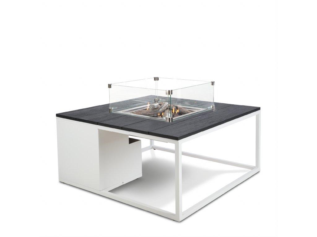 5958740 Cosiloft 100 white black with glass set