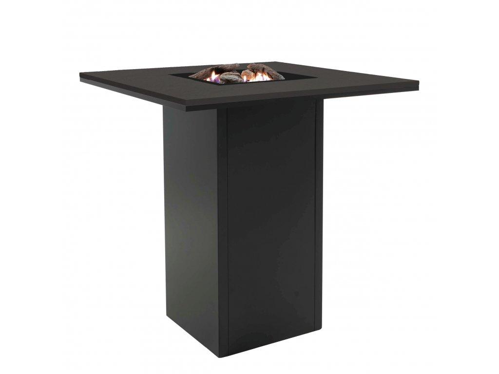 5980100 Cosiloft 100 bar table black black side