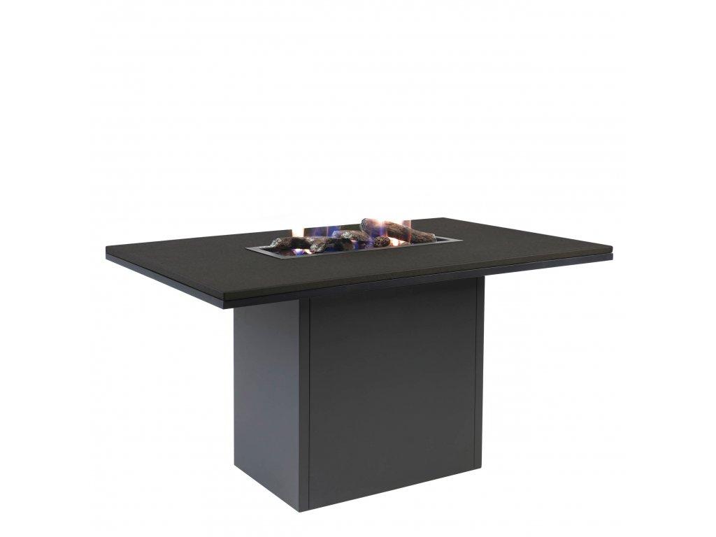 5980690 Cosiloft 120 relax dining black black aluminium side