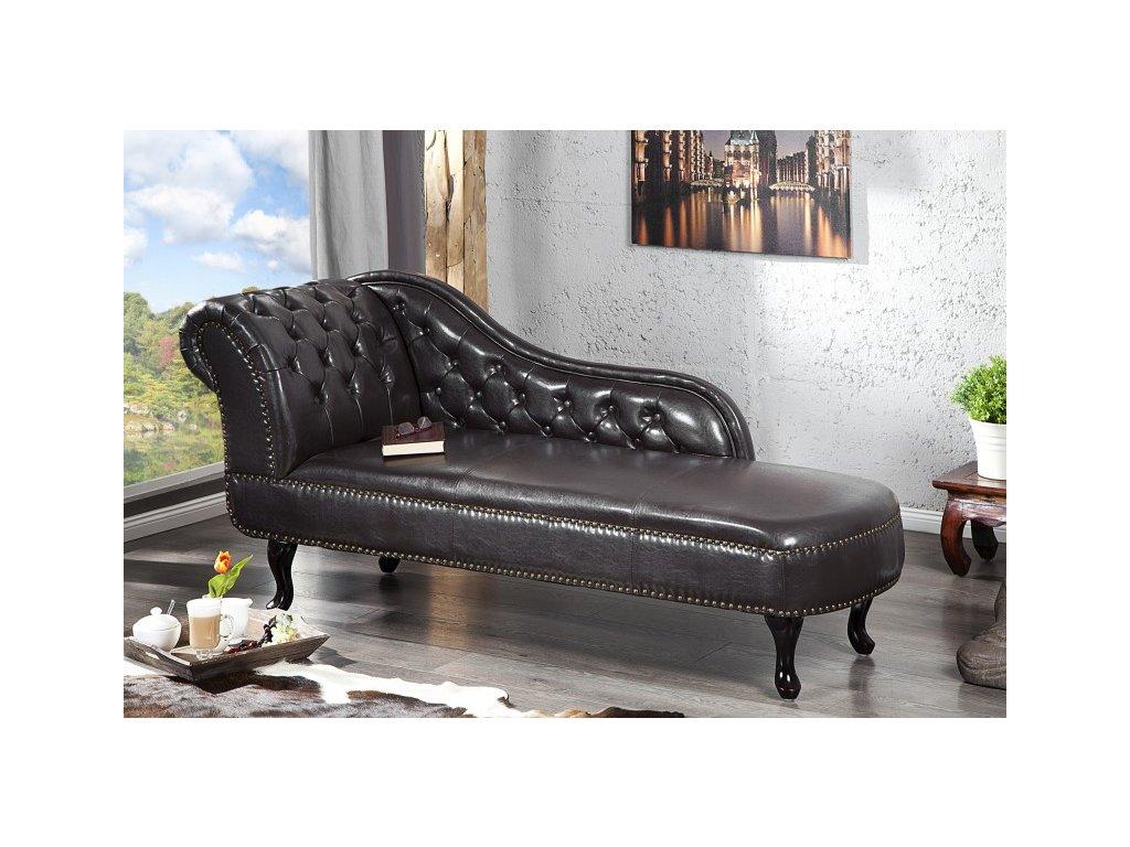 Luxusní pohovka - Achilleo, černá