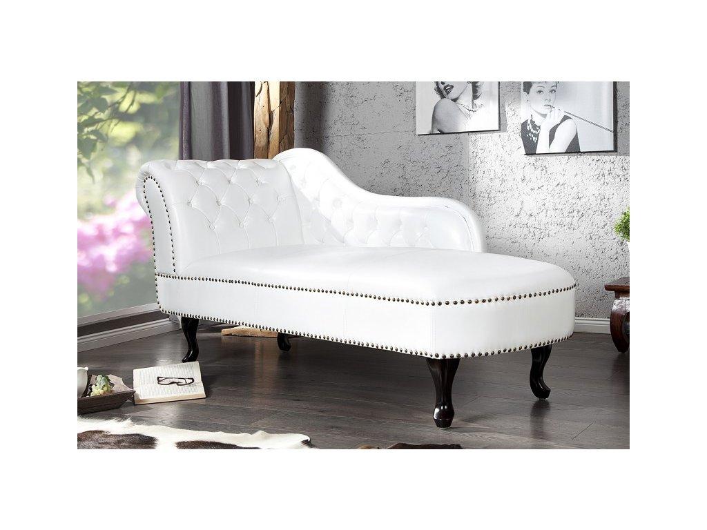 Luxusní pohovka - Achilleo, bílá