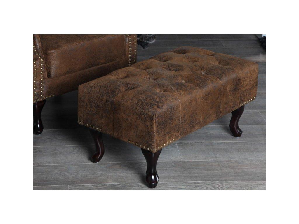 Luxusní lavice - hnědá