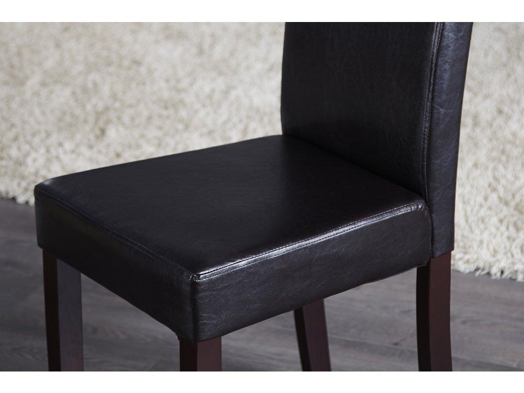 Moderní židle - Flavio, černá
