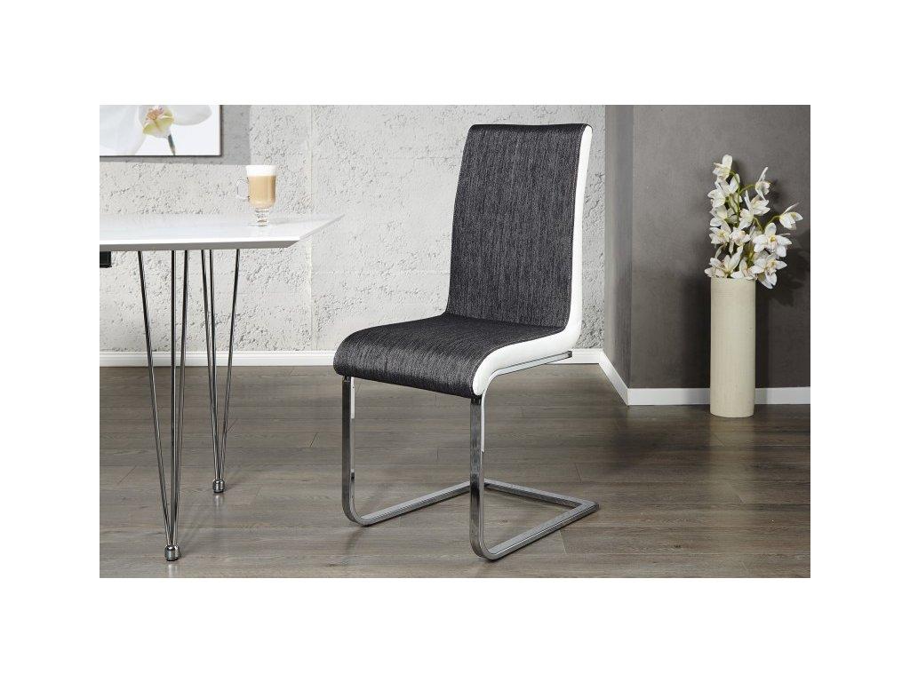 Moderní židle - Galileo, černá