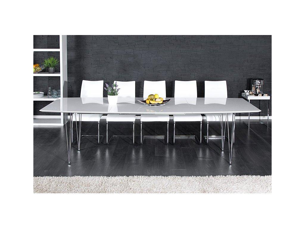 Stylový jídelní stůl - Elisabeth, bílý