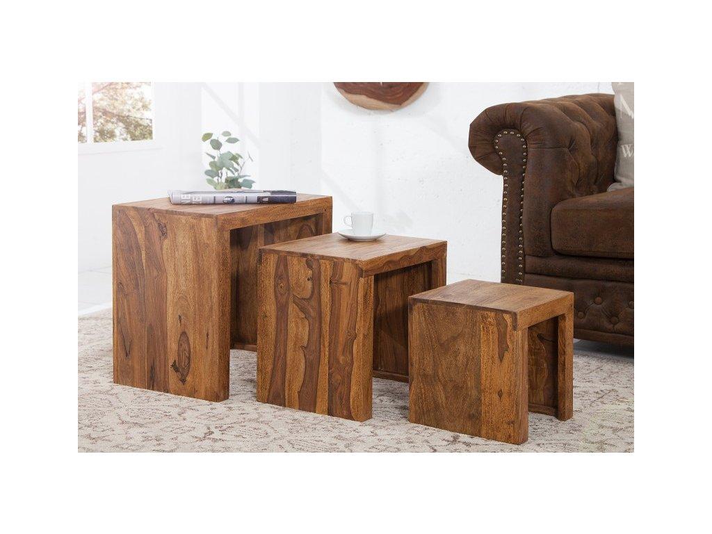 Masivní konferenční stolek - Maria