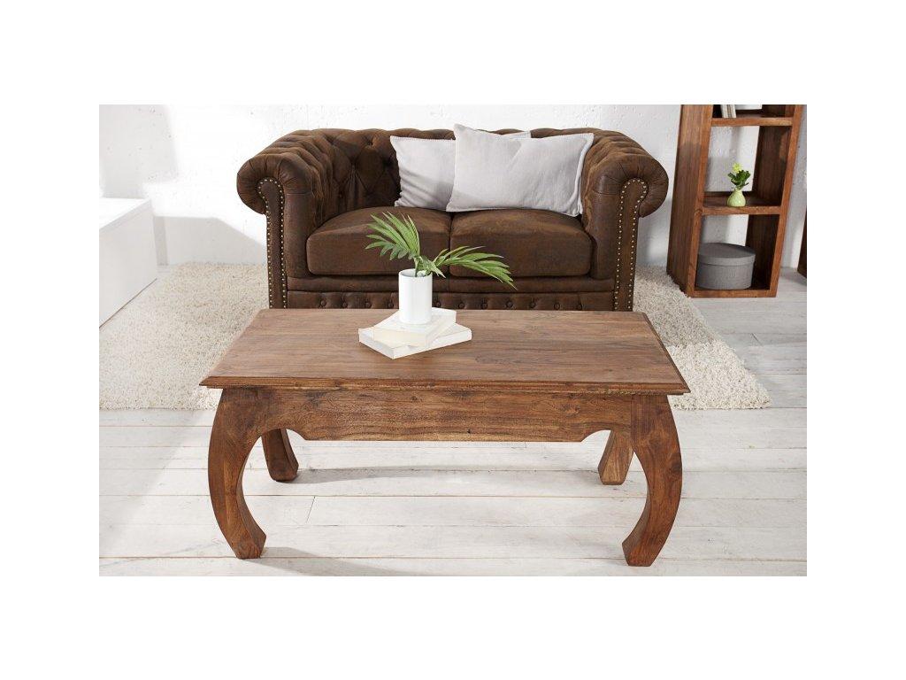 Masivní konferenční stolek - Fabio