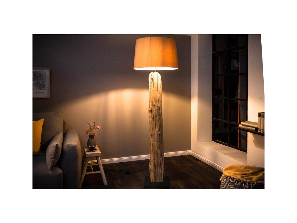 Moderní stojací lampa - Freya