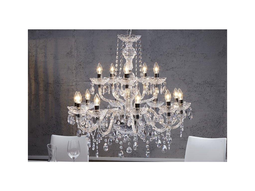 Moderní lustr - Odette, světlá