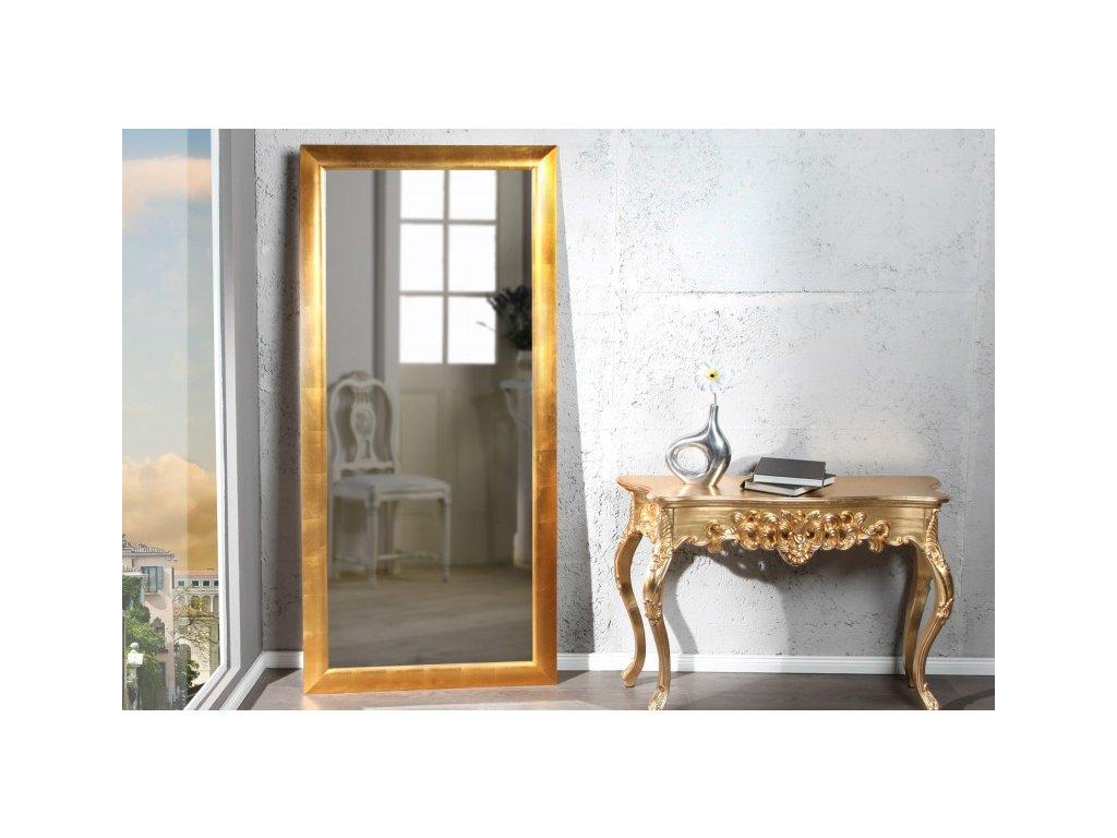 Moderní nástěnné zrcadlo - Esperanto, zlaté