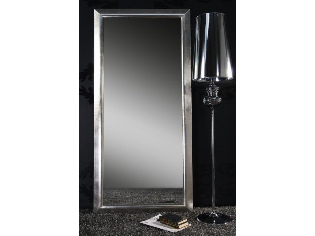 Moderní nástěnné zrcadlo - Esperanto, stříbrné