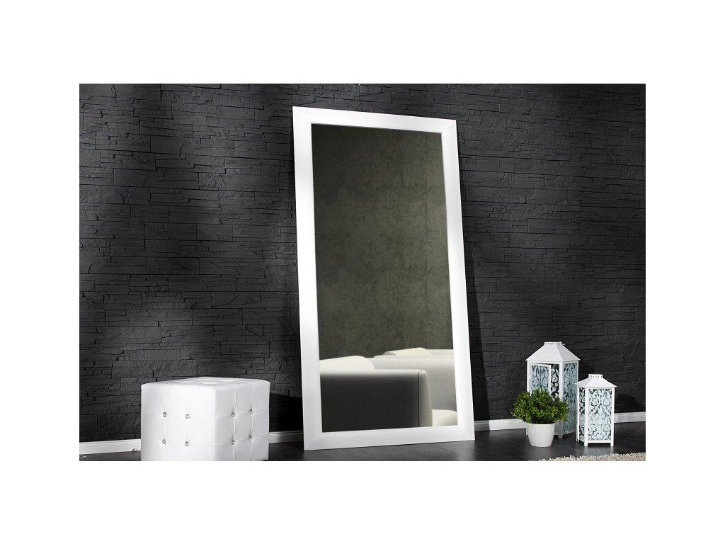 Moderní nástěnné zrcadlo - Esperanto, bílé