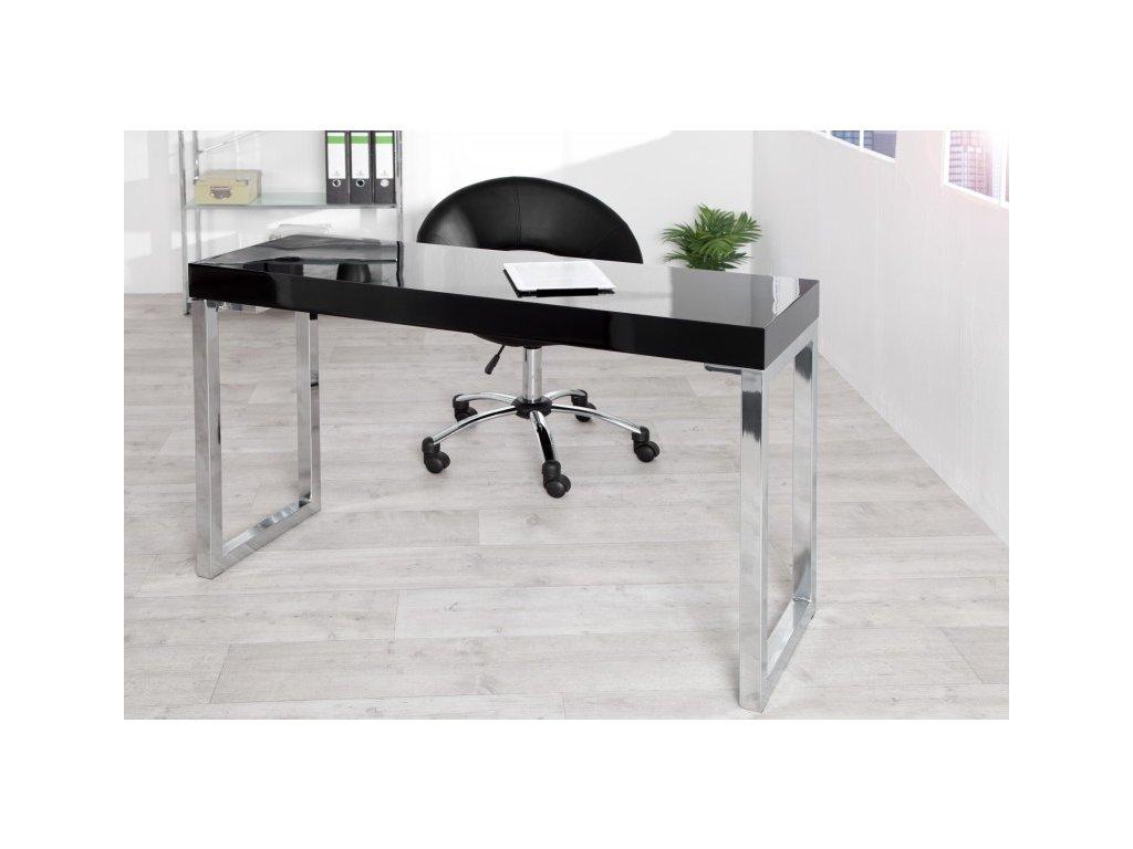 Moderní psací stůl - Kasper, černý