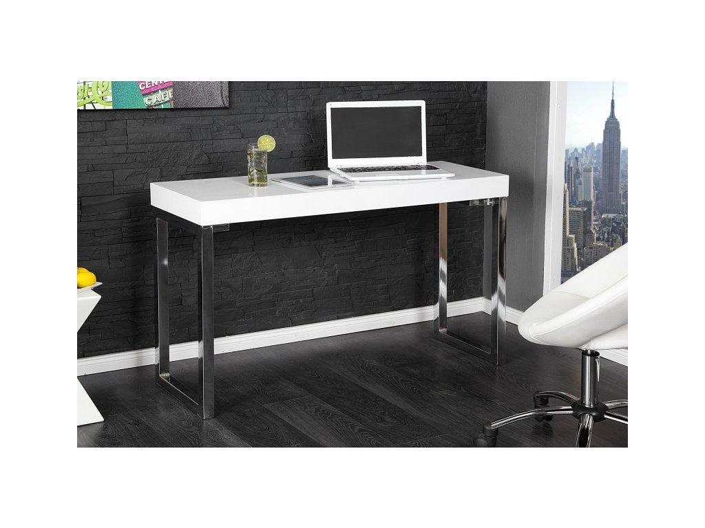 Moderní psací stůl - Kasper, bílý