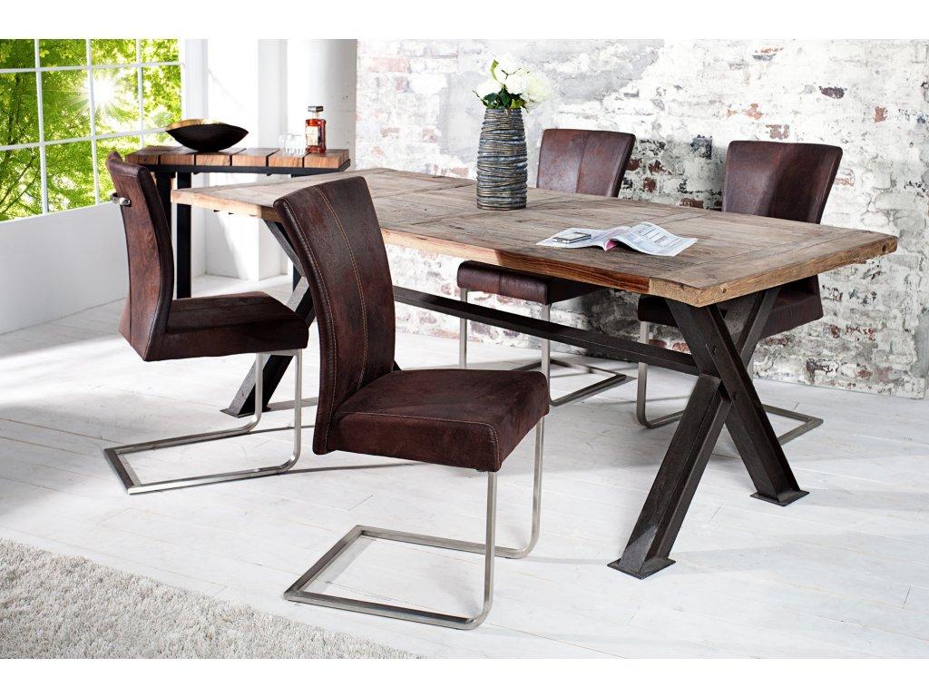 Moderní židle - Deluxe, hnědá