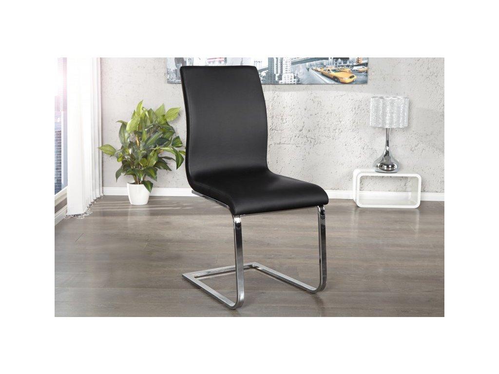 Moderní židle - Lucas, černá