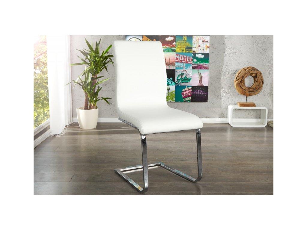 Moderní židle - Lucas, bílá
