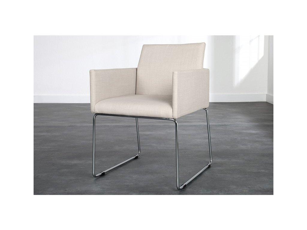 Moderní židle - Leonardo, béžová