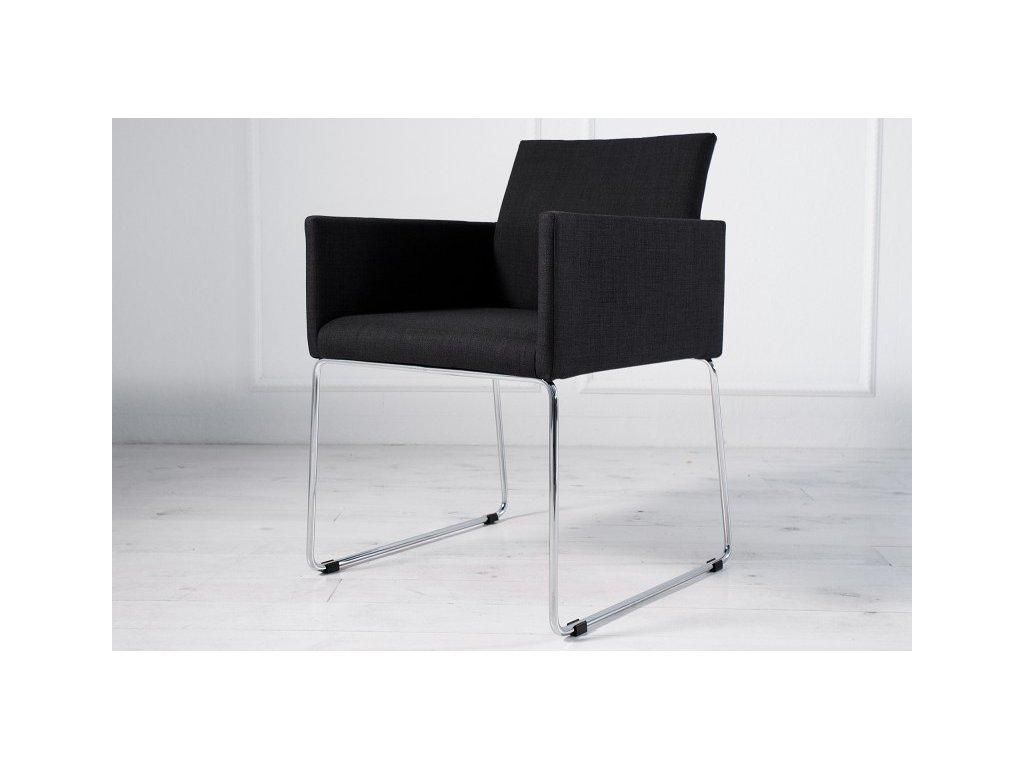 Moderní židle - Leonardo, černá