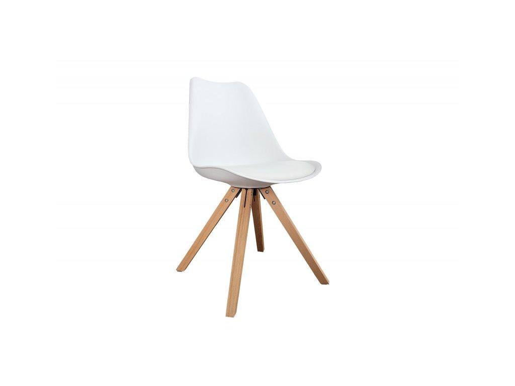 Moderní židle - Novus, bílá