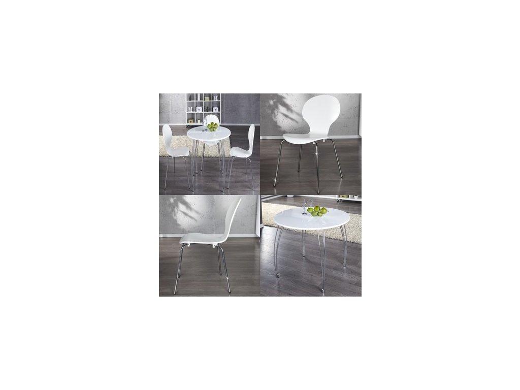 Stylový jídelní stůl - Paolo (set)