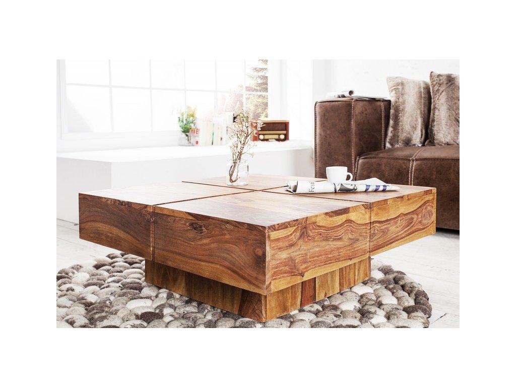 Masivní konferenční stolek - Alfréd