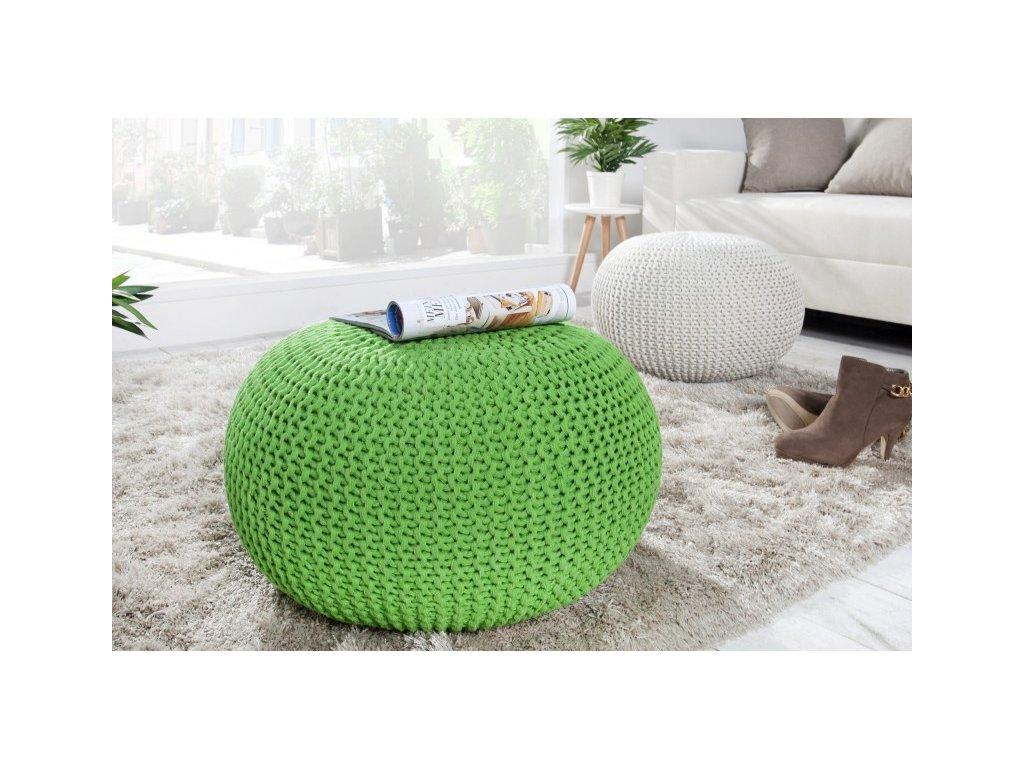 Stylový taburet - Imagine, zelený