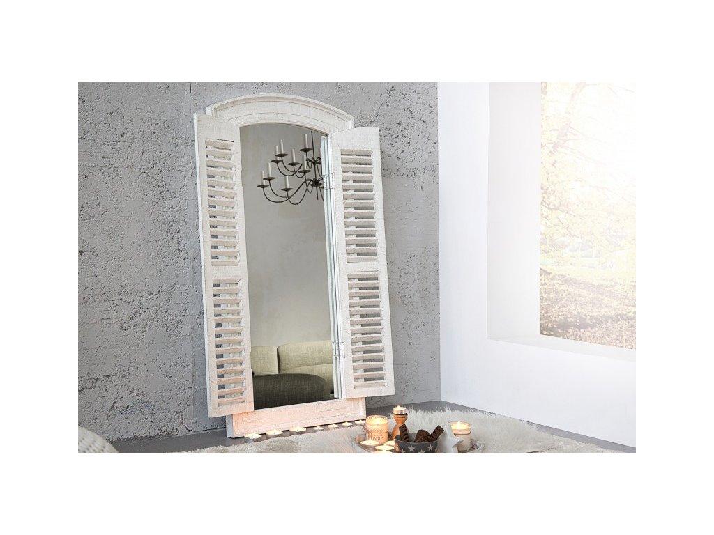Moderní nástěnné zrcadlo - Palermo, bílé