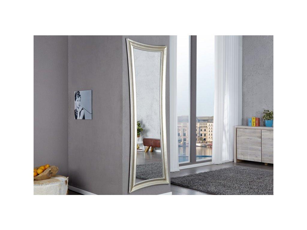 Moderní nástěnné zrcadlo - Antik,stříbrné