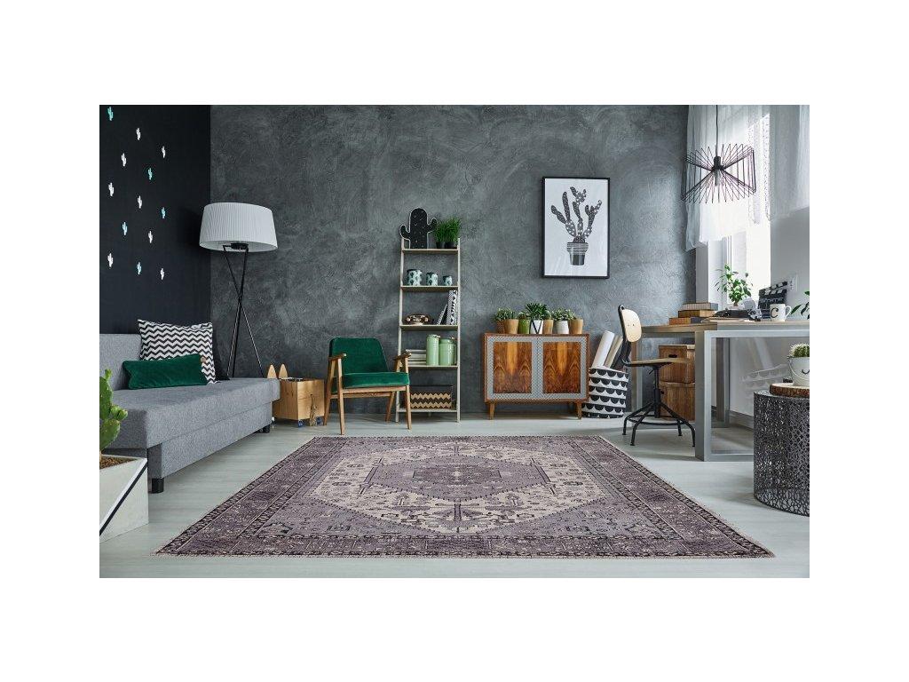 Stylový koberec - Tarent, šedý