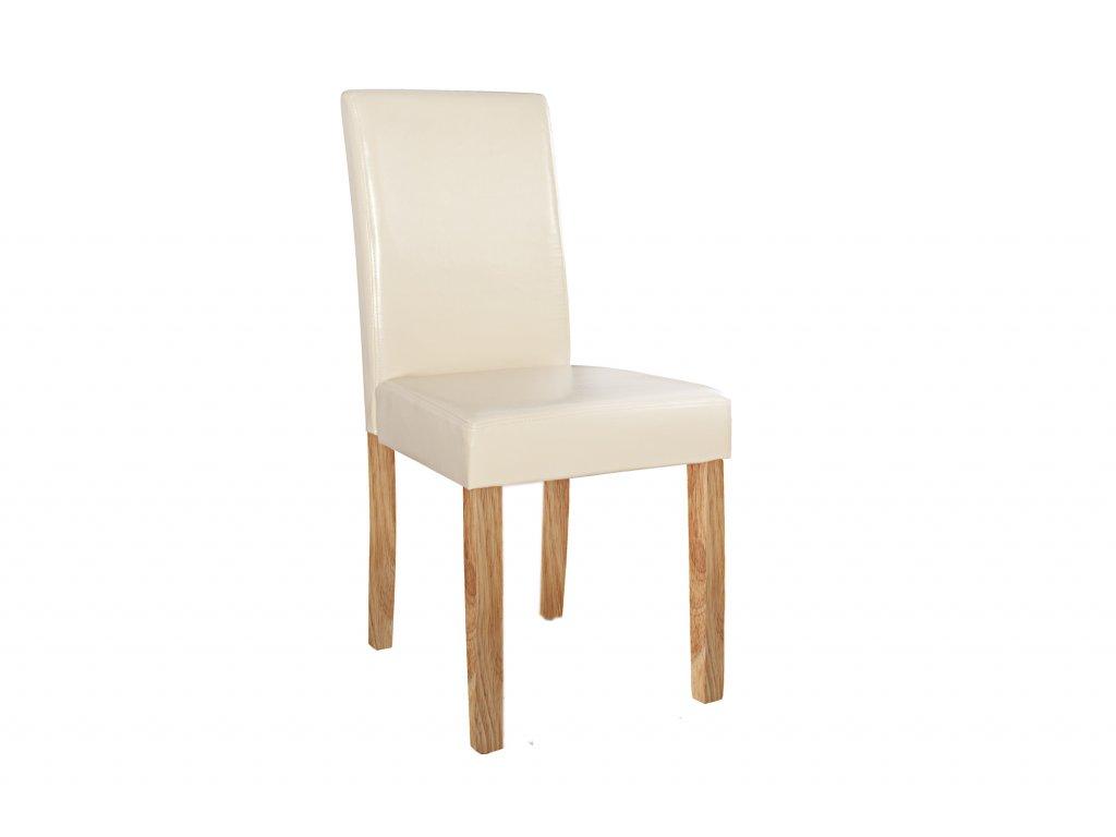 Moderní židle - Flavio, bílá