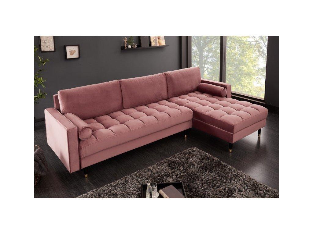 Rohová sedačka - Velvet