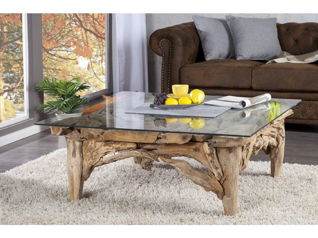 Designový konferenční stolek - Wood