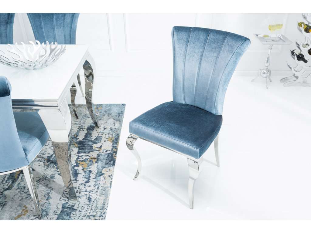 Moderní židle - barocco,samet