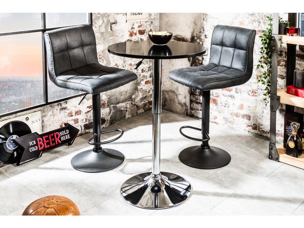 Barový stolek - Barbara,černý